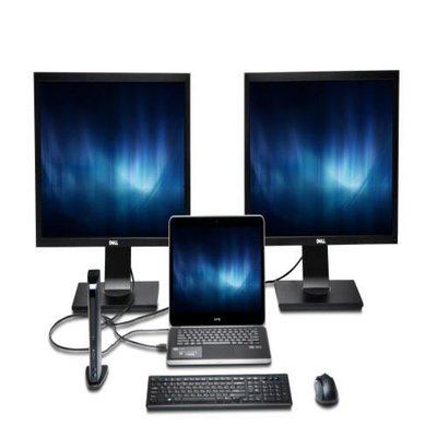 Kensington SD3500v 5 Gbps USB 3.0 dubbel 2K dockingstation - HDMI/DVI-I/VGA - Windows