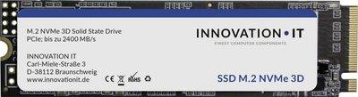 Innovation IT SSD 256GB InnovationIT Black M.2 NVMe PCIe 3D TLC retail