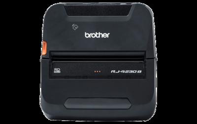 Brother RJ-4230B Robuuste mobiele printer voor labels en bonnen tot 11,4 cm met USB en Bluetooth verbindingen.
