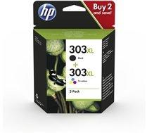 HP 303XL zwart en kleur (Origineel Hoge Capaciteit)