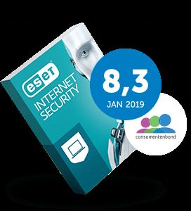 ESET Internet Security 3-Devices 1 jaar